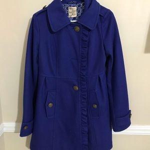 Royal Blue Pea Coat